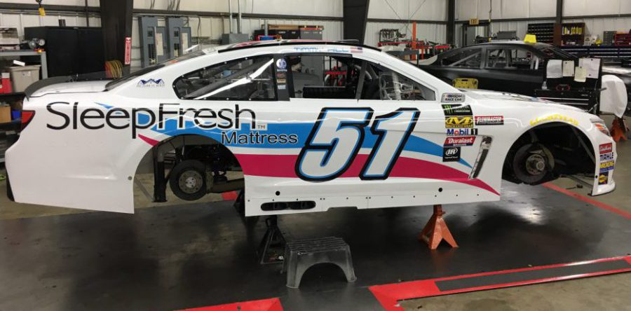 Symbol Mattress Partners With Nascar To Promote Sleepfresh Beds