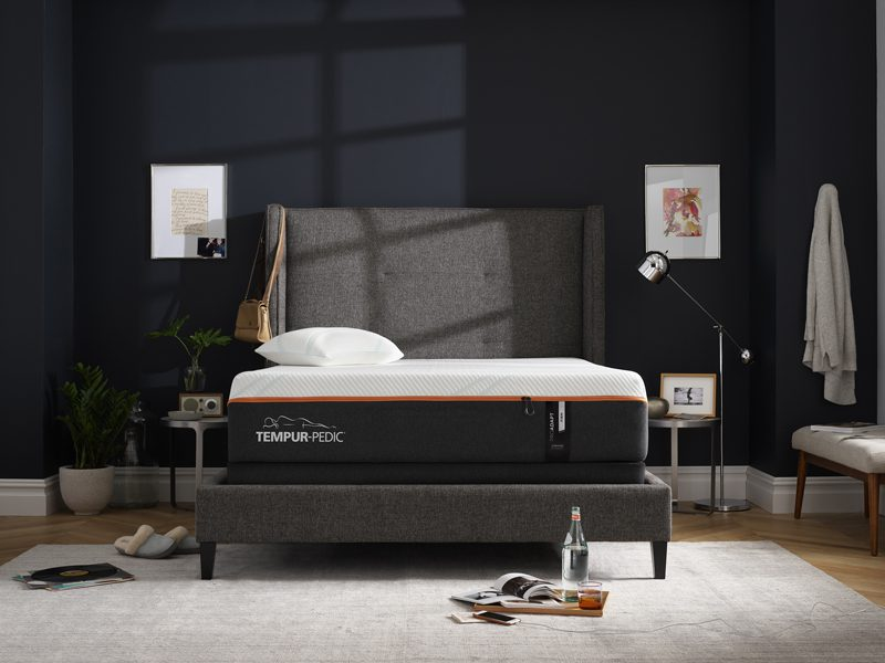 el elite foundation by pedic low foam temp breeze medium contour mattress bed king memory dorado regular tempurpedic set tempur furniture with w