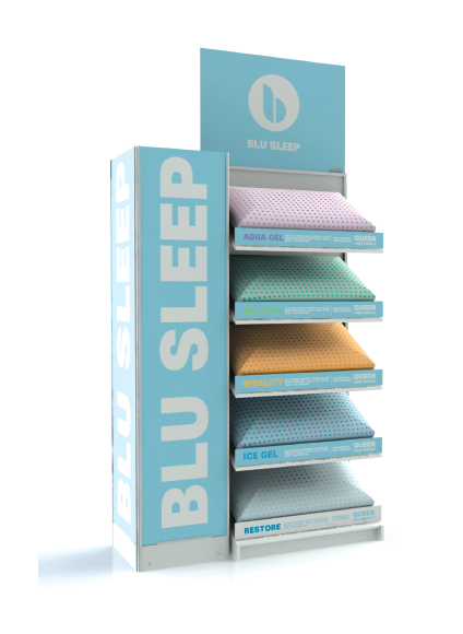 Blu Sleep Pillow Display
