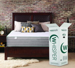 Mattress_Therapedic Whisper Bed