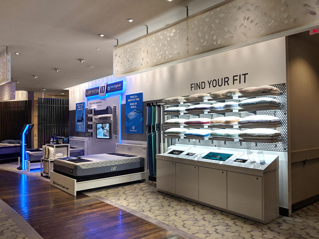 Bedgear Macys Herald Square Shop