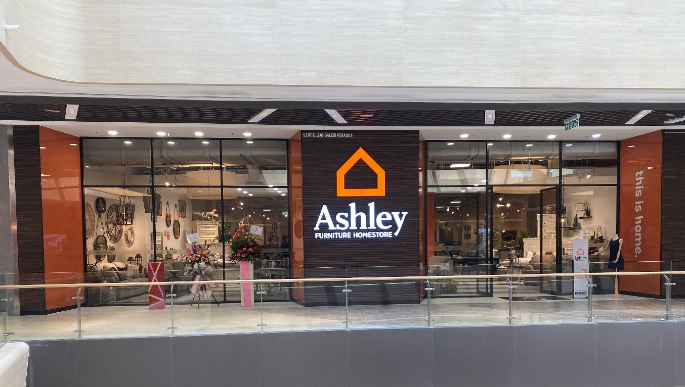 Ashley Furniture Opens New Store in Malaysia  Sleep Retailer