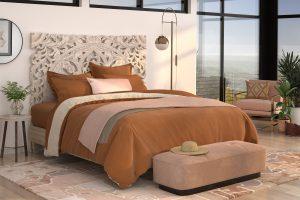 PureCare_Duvet Collection on mattress in bedroom