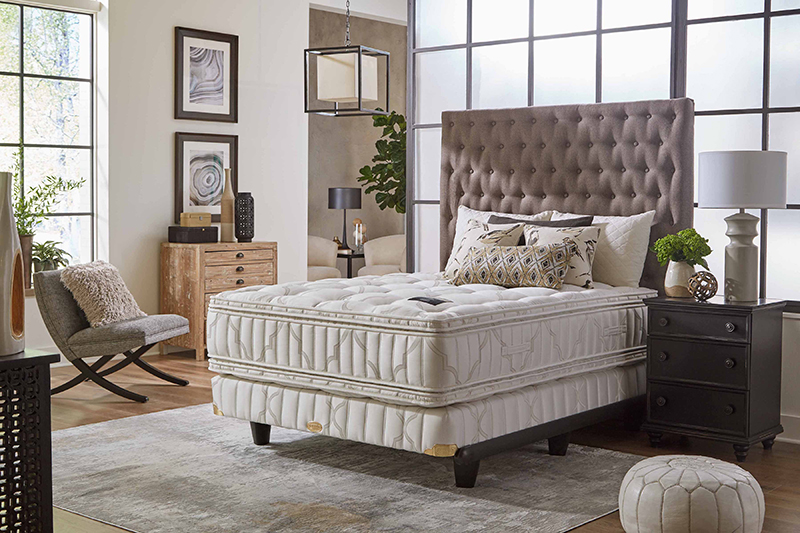 Marketing_Shifman American Heritage Mattress Collection in bedroom setting